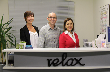 North Brisbane Chiropractor Dr Malone and assistants